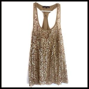 Almost famous sequin tank